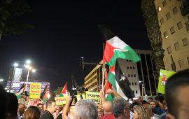 """""""المتابعة"""" تستعد لسلسلة نشاطات جديدة مناهضة لقانون """"القومية"""" بعد مظاهرة تل أبيب"""