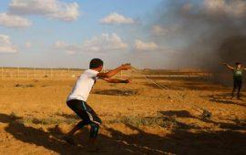 """""""حماس"""" لمواجهة انتكاسة التهدئة بتصعيد مسيرات العودة"""