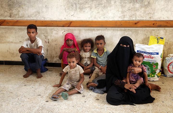Photo of الحرب تهدد خمسة ملايين طفل يمني بالمجاعة