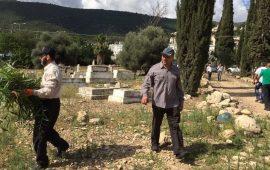 """الاستعدادات على قدم وساق لليوم التطوعي في """"مقبرة القسام"""" السبت المقبل"""