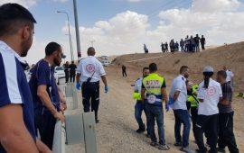 مصرع نمر أبو قرينات بعد انزلاق دراجته النارية في النقب