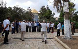 """في أول أيام """"الأعياد اليهودية"""": 258 مستوطنًا ووزير """"إسرائيلي"""" يقتحمون الأقصى"""