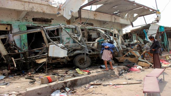 "Photo of ""هيومن رايتس ووتش"": غارة التحالف على حافلة الأطفال في اليمن جريمة حرب"