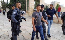اعتقال 3 مقدسيين فور خروجهم من الأقصى