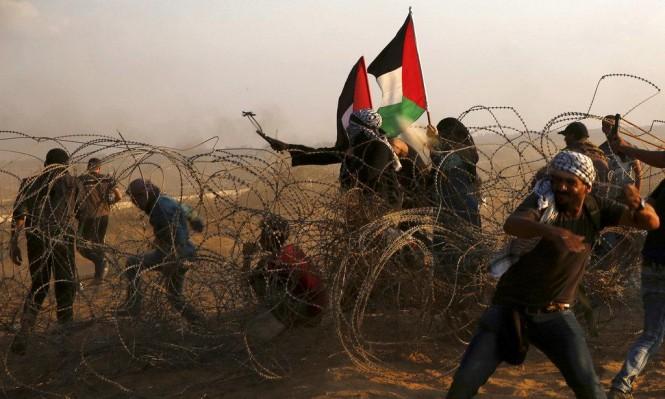 Photo of طائرة تستهدف مطلقي البالونات الحارقة وتوغل عسكري بغزة