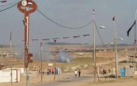 طائرة إسرائيلية تستهدف مجموعة من الشبان شرق البريج
