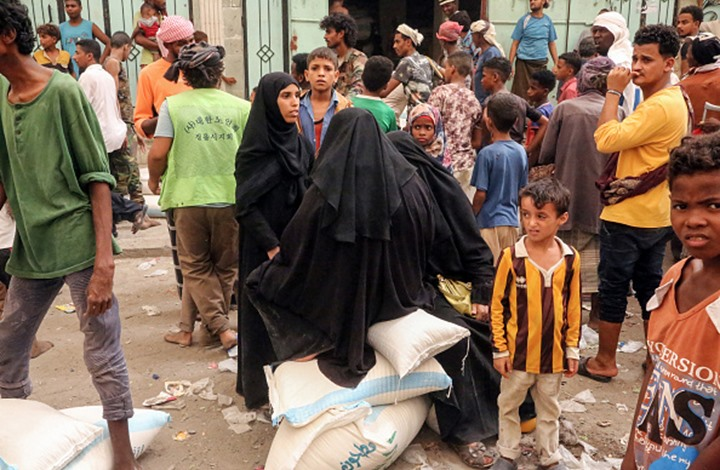 "Photo of الأمم المتحدة: 14 مليون شخص باليمن ""على شفا المجاعة"""