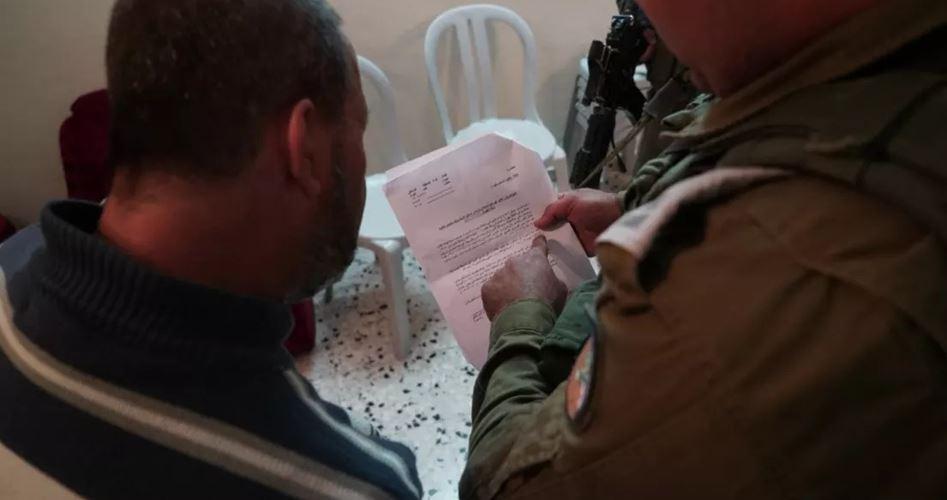 "Photo of الاحتلال يُخطر عائلة ""نعالوة"" في طولكرم بهدم منزلها خلال 3 أيام"