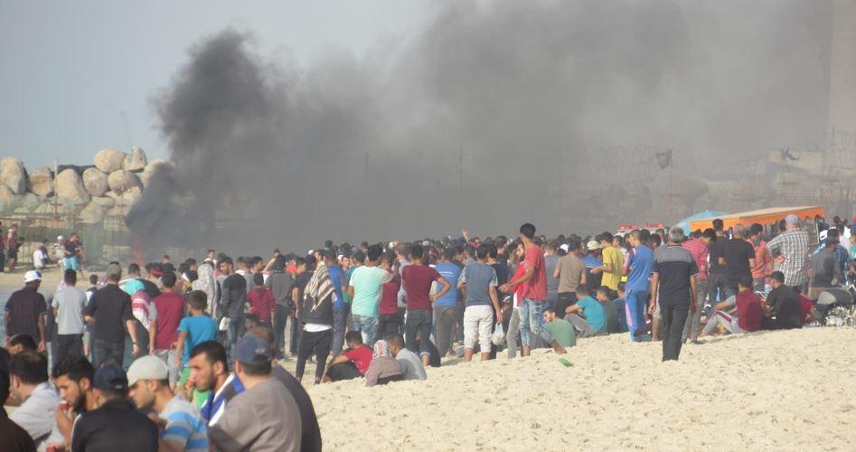 Photo of 10 إصابات بقمع الاحتلال الحراك البحري الخامس عشر شمال القطاع