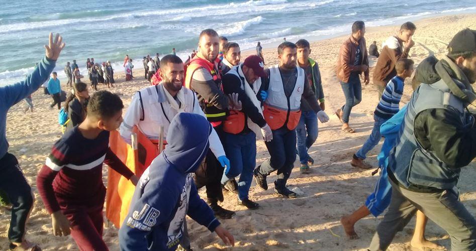 Photo of إصابات بقمع الاحتلال الحراك البحري الـ19 شمال القطاع