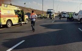 مصرع شخص وإصابة اثنان بجروح في حادث طرق بالجنوب