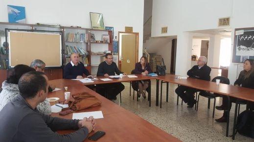 Photo of لجنة متابعة قضايا التعليم العربي تناقش مشروع عام اللغة العربية والهوية