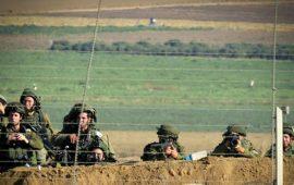 إصابة ضابط إسرائيلي برصاص قناص فلسطيني قبالة غزة