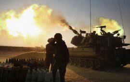 شهيد وإصابتان في قصف إسرائيلي شرق البريج