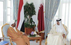"""أمير قطر يلتقي البشير ويعلن دعمه """"استقرار ووحدة السودان"""""""