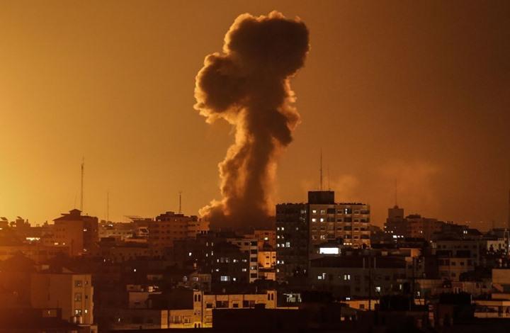 Photo of غارات إسرائيلية تستهدف مواقع للمقاومة شمال قطاع غزة