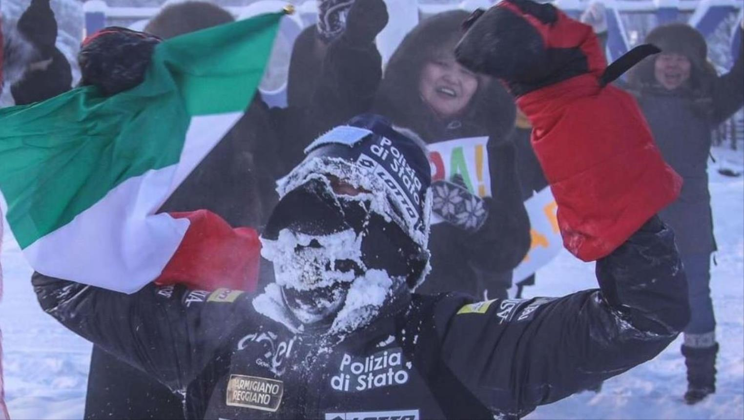 Photo of عداء إيطالي يقهر برد سيبيريا بعد تحدي صحراء إيران