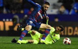 ليفانتي يفوز على برشلونة في كأس ملك إسبانيا