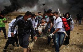 غزة: إصابات خلال قمع الاحتلال للمشاركين في مسيرات العودة