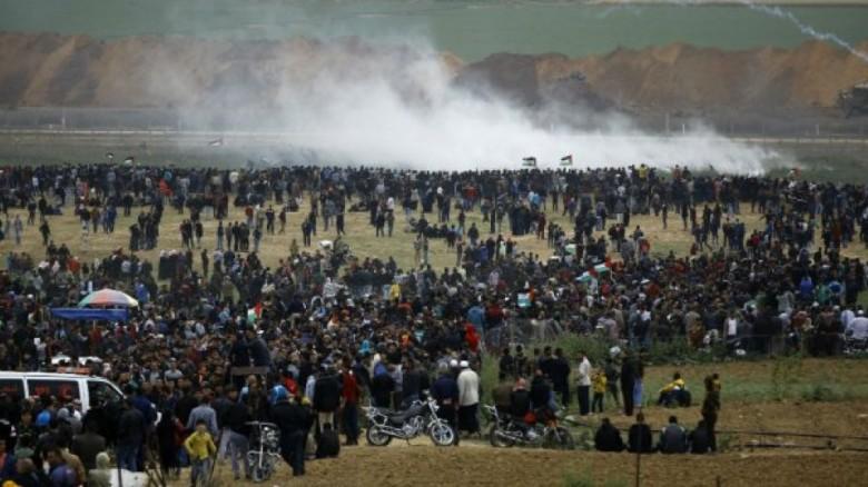 استعدادت بغزة لجمعة جديدة من مسيرات العودة والاحتلال يهدد