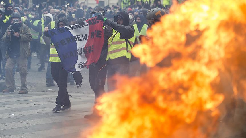 """فرنسا.. إجراءات مشددة استعدادًا لمظاهرات """"السترات الصفراء"""""""