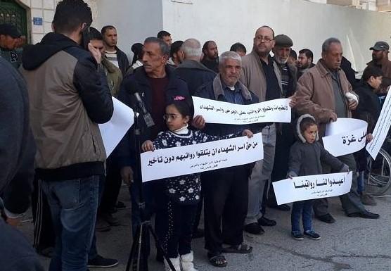 عائلات الشهداء والأسرى بغزة: نرفض تعامل سلطة رام الله معنا على أسس حزبية!