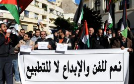 مغربيون يعتزمون منع حفل غنائي يحييه مطرب داعم للاحتلال