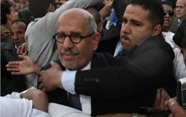 """البرادعي يغرد مجددا عن مخالفة دستور مصر.. """"البقاء للأقوى"""""""