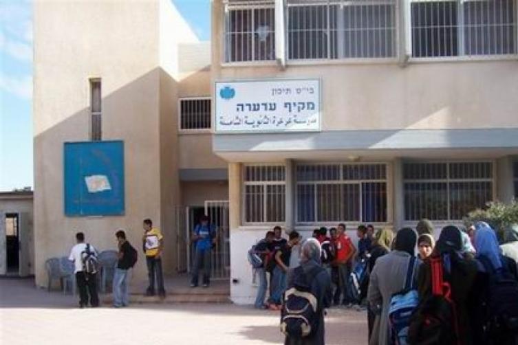 Photo of اضراب في عرعرة النقب بعد الاعتداء على المدير والمعلمين