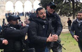 اعتقالات واعتداءات: الاحتلال يغلق بوابات الأقصى ودعوات مقدسية للنفير