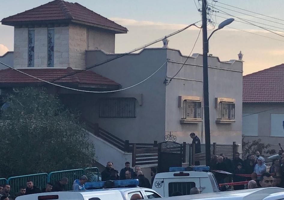 مقتل شاب رميا بالرصاص من سالم عند مدخل منزله