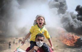 """9 إصابات برصاص الاحتلال بجمعة """"باب الرحمة"""""""
