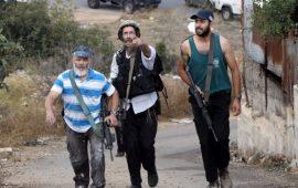 الأهالي يتصدون لهجوم لمستوطنين بقرية المغير شمال رام الله