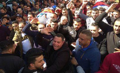 آلاف المواطنين يشيّعون شهيدي نابلس