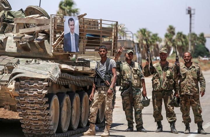 "Photo of جيش الأسد يغني ""آه يا حنان"".. وناشطون: والجولان؟"