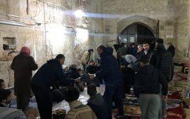 الاحتلال يمنع إدخال وجبات الإفطار للصائمين في المسجد الأقصى