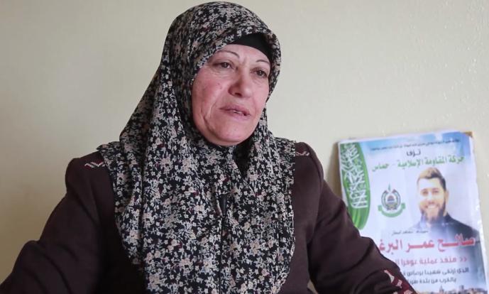 Photo of الإفراج عن والدة الشهيد صالح البرغوثي