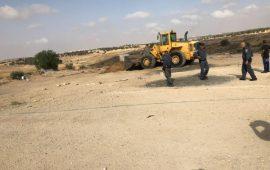السلطات الإسرائيلية تقتحم العراقيب وتهدم مساكنها للمرة الـ 140