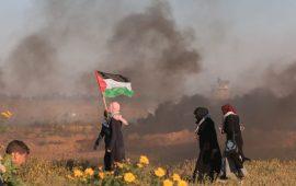 شهيد وإصابات في مسيرات العودة شرقي قطاع غزة