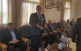 قيادات إسلامية من الداخل الفلسطيني تعزّي في رئيس مجلس النواب الأردني الأسبق عبد اللطيف عربيات