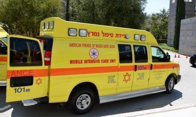 Photo of إصابة عامل بجراح سقط من علو قرب القدس