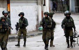إصابة فلسطيني ومطاردة آخر بزعم محاولة تنفيذ عملية بالضفة