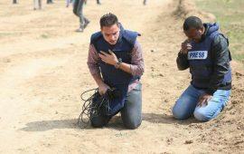 126 انتهاكًا إسرائيليًّا بحق الصحافة الفلسطينية في الربع الأول من 2019