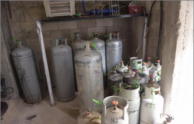 أم الفحم: مصادرة 149 اسطوانة غاز واعتقال 3 أشخاص على ذمة التحقيق