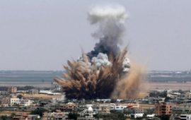طائرات إسرائيلية تستهدف نقاط رصد للمقاومة في قطاع غزة