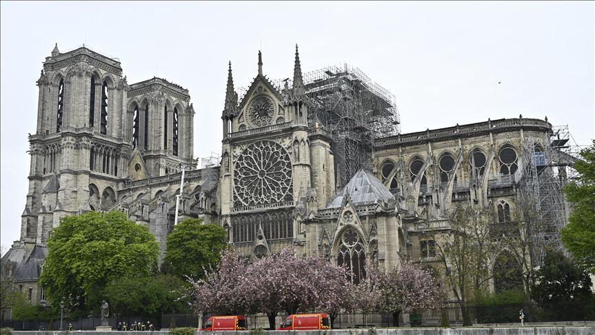 "Photo of فرنسا: ماس كهربائي على الأرجح وراء حريق ""نوتردام"""