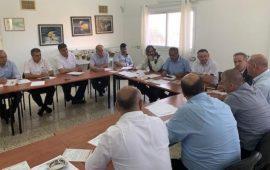 اللجنة القطرية تستعد لمؤتمر رؤساء السلطات المحلية العربية