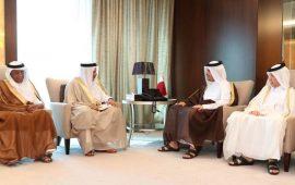 """أمير قطر يتسلم دعوة رسمية من العاهل السعودي لحضور """"قمة مكة"""""""