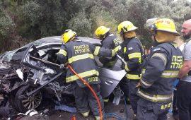 3 إصابات في حادث طرق قرب إكسال