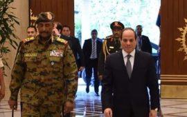 بعد زيارة نائبه للرياض.. البرهان في القاهرة